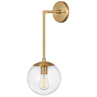 Hinkley 3742HB Warby 1 Light 8 inch Heritage Brass Sconce Wall Light