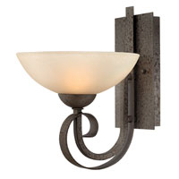 Hinkley Lighting Middlebury 1 Light Sconce in Forged Iron 3760FI