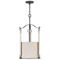 Hinkley 3763BGR Telluride 3 Light 14 inch Brushed Graphite Pendant Ceiling Light
