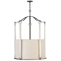 Hinkley 3766BGR Telluride 6 Light 30 inch Brushed Graphite Chandelier Ceiling Light