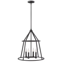 Middleton 4 Light 20 inch Graphite Bronze Pendant Ceiling Light