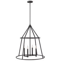 Hinkley 3774GZ Middleton 4 Light 26 inch Graphite Bronze Pendant Ceiling Light