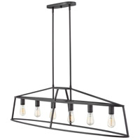 Middleton 6 Light 52 inch Graphite Bronze Chandelier Ceiling Light