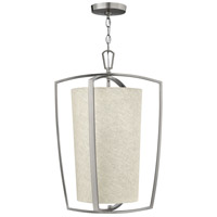 Hinkley 3793BN Blakely 3 Light 17 inch Brushed Nickel Hanging Foyer Ceiling Light