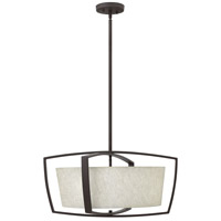Hinkley 3794KZ Blakely 4 Light 24 inch Buckeye Bronze Chandelier Ceiling Light