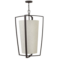 Hinkley 3796KZ Blakely 4 Light 22 inch Buckeye Bronze Foyer Light Ceiling Light
