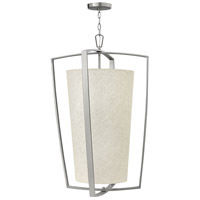 Blakely 4 Light 22 inch Brushed Nickel Hanging Foyer Ceiling Light