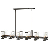 Hinkley 38108BX Reeve 12 Light 46 inch Black Oxide Chandelier Ceiling Light