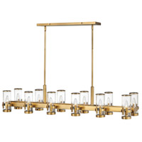 Hinkley 38108HB Reeve 12 Light 46 inch Heritage Brass Chandelier Ceiling Light