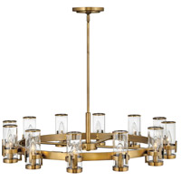 Hinkley 38109HB Reeve 12 Light 36 inch Heritage Brass Chandelier Ceiling Light