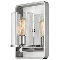 Hinkley 3810PN Eton 1 Light 9 inch Polished Nickel Wall Sconce Wall Light