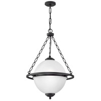 Hinkley 3843OZ Howell 3 Light 22 inch Oil Rubbed Bronze Pendant Ceiling Light