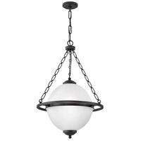 Hinkley 3843OZ Howell 3 Light 22 inch Oil Rubbed Bronze Pendant Ceiling Light