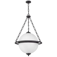 Hinkley 3844OZ Howell 4 Light 25 inch Oil Rubbed Bronze Chandelier Ceiling Light