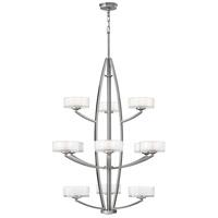 Hinkley 3876BN Meridian 12 Light 34 inch Brushed Nickel Foyer Ceiling Light
