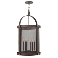 Hinkley 3944KZ Holden 6 Light 20 inch Buckeye Bronze Hanging Foyer Ceiling Light