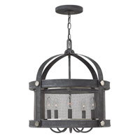 Hinkley Lighting Holden 5 Light Chandelier in Aged Zinc 3946DZ