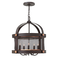 Hinkley 3946KZ Holden 5 Light 20 inch Buckeye Bronze Chandelier Ceiling Light