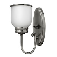 Hinkley Lighting Easton 1 Light Sconce in Polished Antique Nickel 3980PL