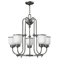 Hinkley Lighting Easton 5 Light Chandelier in Polished Antique Nickel 3985PL