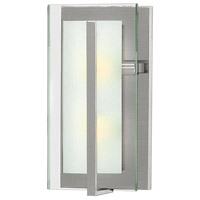 Latitude 2 Light 8 inch Brushed Nickel ADA Sconce Wall Light