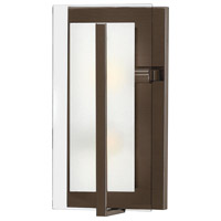 Hinkley 3992OZ Latitude 2 Light 8 inch Oil Rubbed Bronze ADA Sconce Wall Light