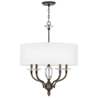 Surrey 5 Light 24 inch Oiled Bronze Chandelier Ceiling Light