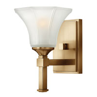 Hinkley Lighting Abbie 1 Light Sconce in Brushed Caramel 4040BC photo thumbnail