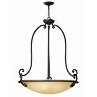 Hinkley Lighting Gold Hill 5 Light Hanging Foyer in Olde Black 4054OL