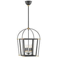 Hinkley 4057BK Selby 4 Light 16 inch Black Pendant Ceiling Light