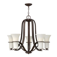 Hinkley Lighting Lauren 5 Light Chandelier in Victorian Bronze 4065VZ photo thumbnail