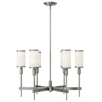 Hinkley Lighting Princeton 6 Light Chandelier in Brushed Nickel 4076BN