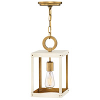 Porter 1 Light 7 inch Heritage Brass with Warm White Chandelier Pendant Ceiling Light
