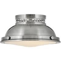 Hinkley 4081PL Emery 2 Light 13 inch Polished Antique Nickel Foyer Light Ceiling Light