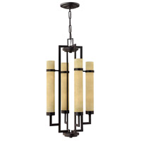 Cordillera 8 Light 19 inch Rustic Iron Semi Flush Ceiling Light