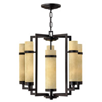 Hinkley Lighting Cordillera 10 Light Chandelier in Rustic Iron 4095RI