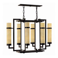 Hinkley Lighting Cordillera 12 Light Chandelier in Rustic Iron 4096RI photo thumbnail