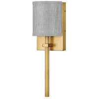 Hinkley 41009HB Avenue LED 6 inch Heritage Brass ADA Sconce Wall Light Galerie