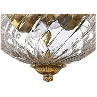 Hinkley 4102BB Plantation 2 Light 12 inch Burnished Brass Bath Flush Mount Ceiling Light alternative photo thumbnail