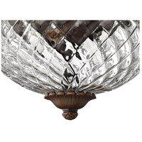 Hinkley 4102CB Plantation 2 Light 12 inch Copper Bronze Foyer Flush Mount Ceiling Light alternative photo thumbnail