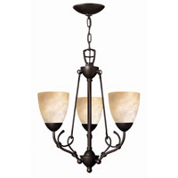 Hinkley Lighting Portofino 3 Light Chandelier in Victorian Bronze 4113VZ photo thumbnail