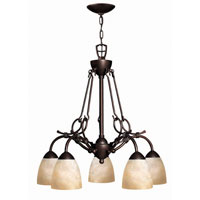 Hinkley Lighting Portofino 5 Light Chandelier in Victorian Bronze 4115VZ photo thumbnail