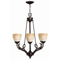 Hinkley Lighting Portofino 6 Light Chandelier in Victorian Bronze 4116VZ photo thumbnail