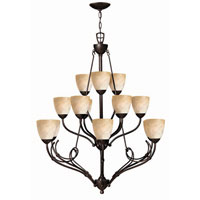 Hinkley Lighting Portofino 15 Light Chandelier in Victorian Bronze 4119VZ photo thumbnail