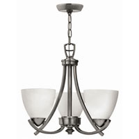Hinkley Soho 3Lt Chandelier in Polished Antique Nickel 4123PL photo thumbnail
