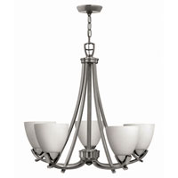 Hinkley Soho 5Lt Chandelier in Polished Antique Nickel 4125PL photo thumbnail