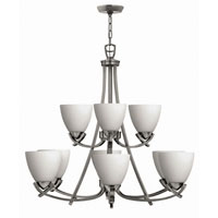 Hinkley Soho 2 Tier 9Lt Chandelier in Polished Antique Nickel 4128PL photo thumbnail