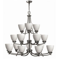 Hinkley Soho 3 Tier 18Lt Chandelier in Polished Antique Nickel 4129PL photo thumbnail