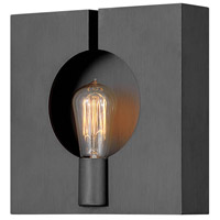 Hinkley 41310BGR Ludlow 1 Light 11 inch Brushed Graphite Wall Sconce Wall Light