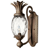 Hinkley 4140PZ Plantation 1 Light 6 inch Pearl Bronze Sconce Wall Light photo thumbnail